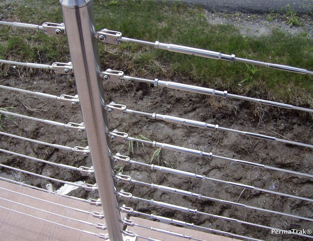 Stainless steel cable railing fittings
