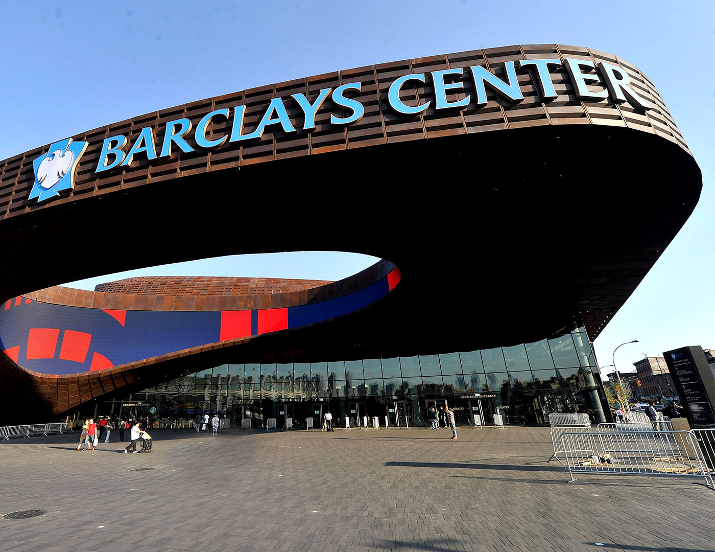 Barclays Arena is Complete