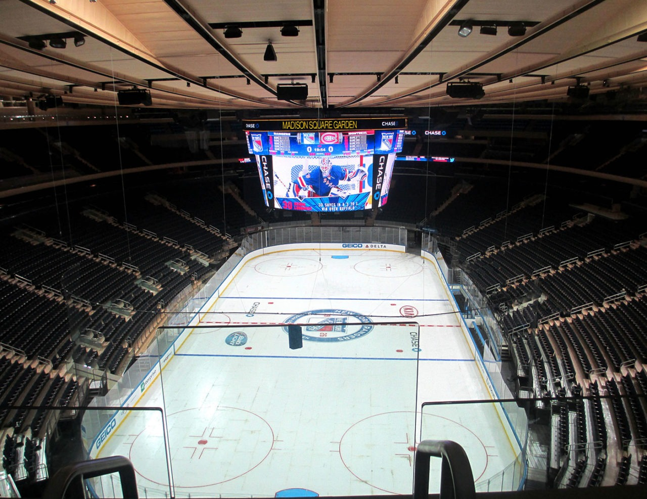 Glass Railing New York Madison Square Garden Trex Commercial Products
