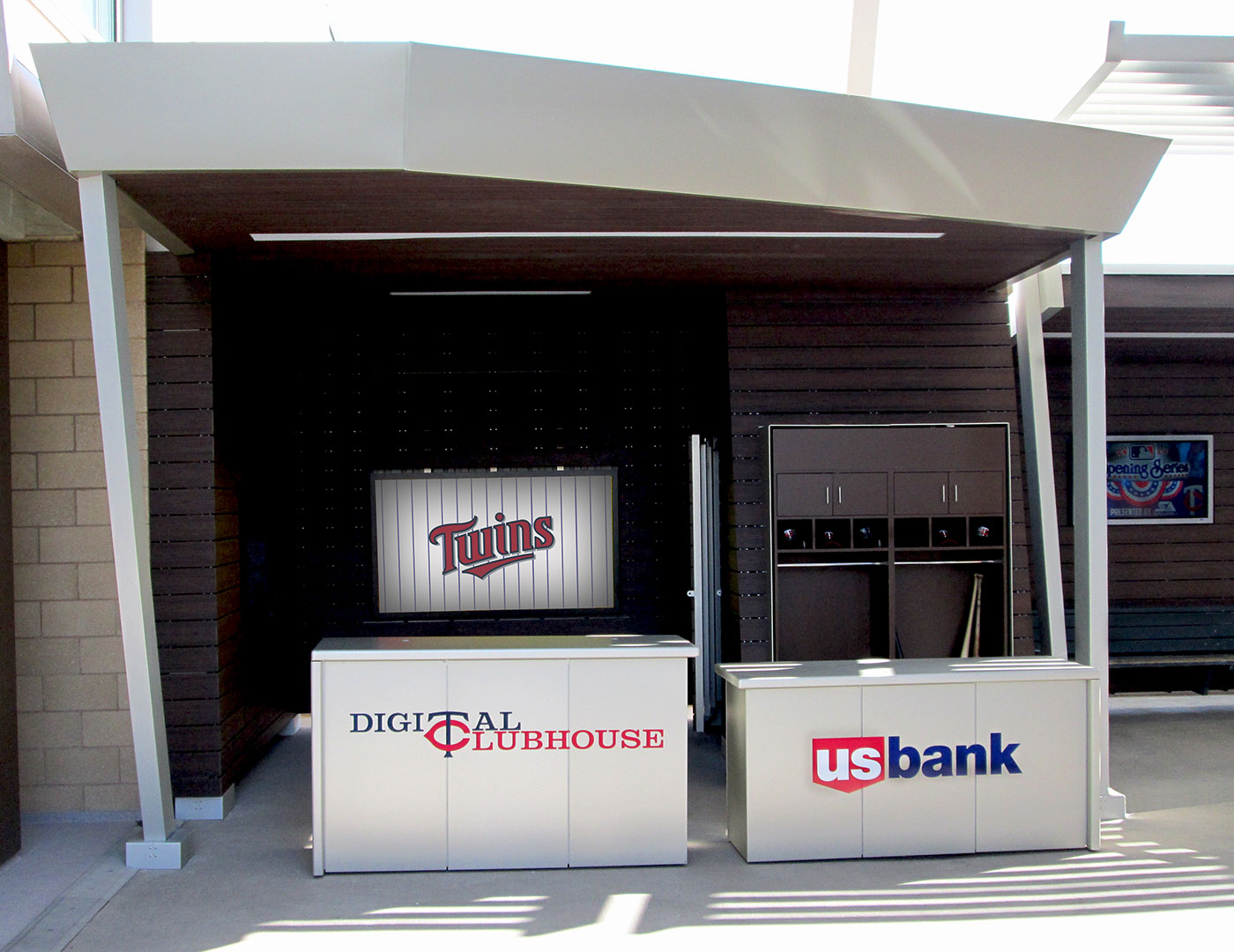 Target Field Digital Clubhouse