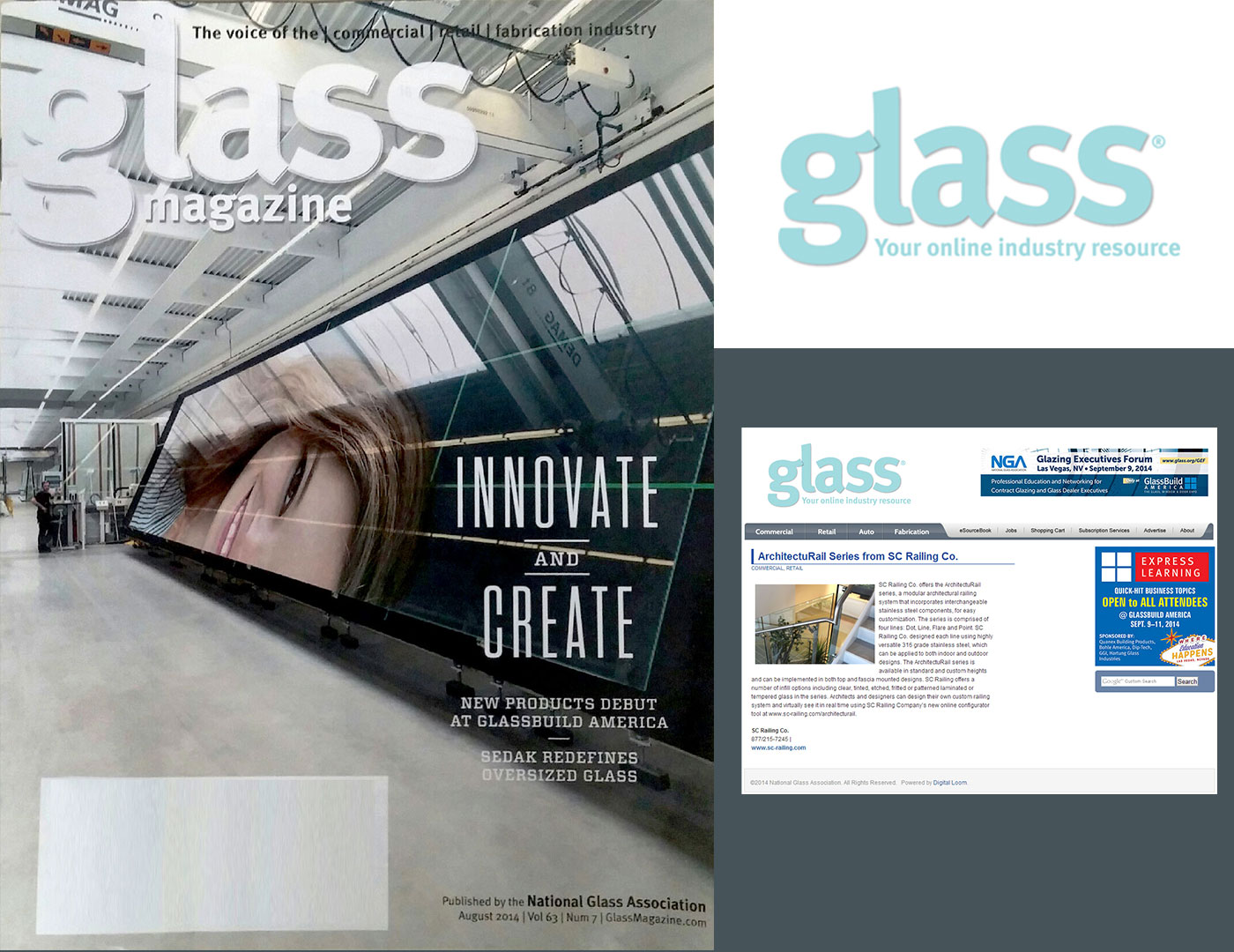 ArchitectuRAIL™ in Glass Magazine
