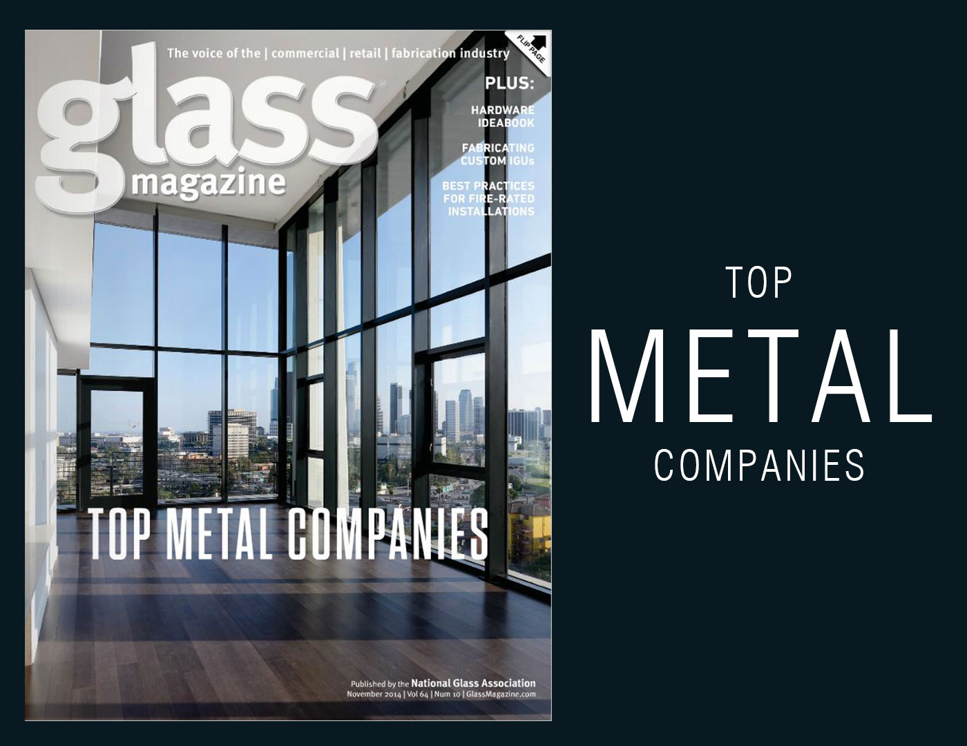SC Railing Named a 2014 Top Metal Company