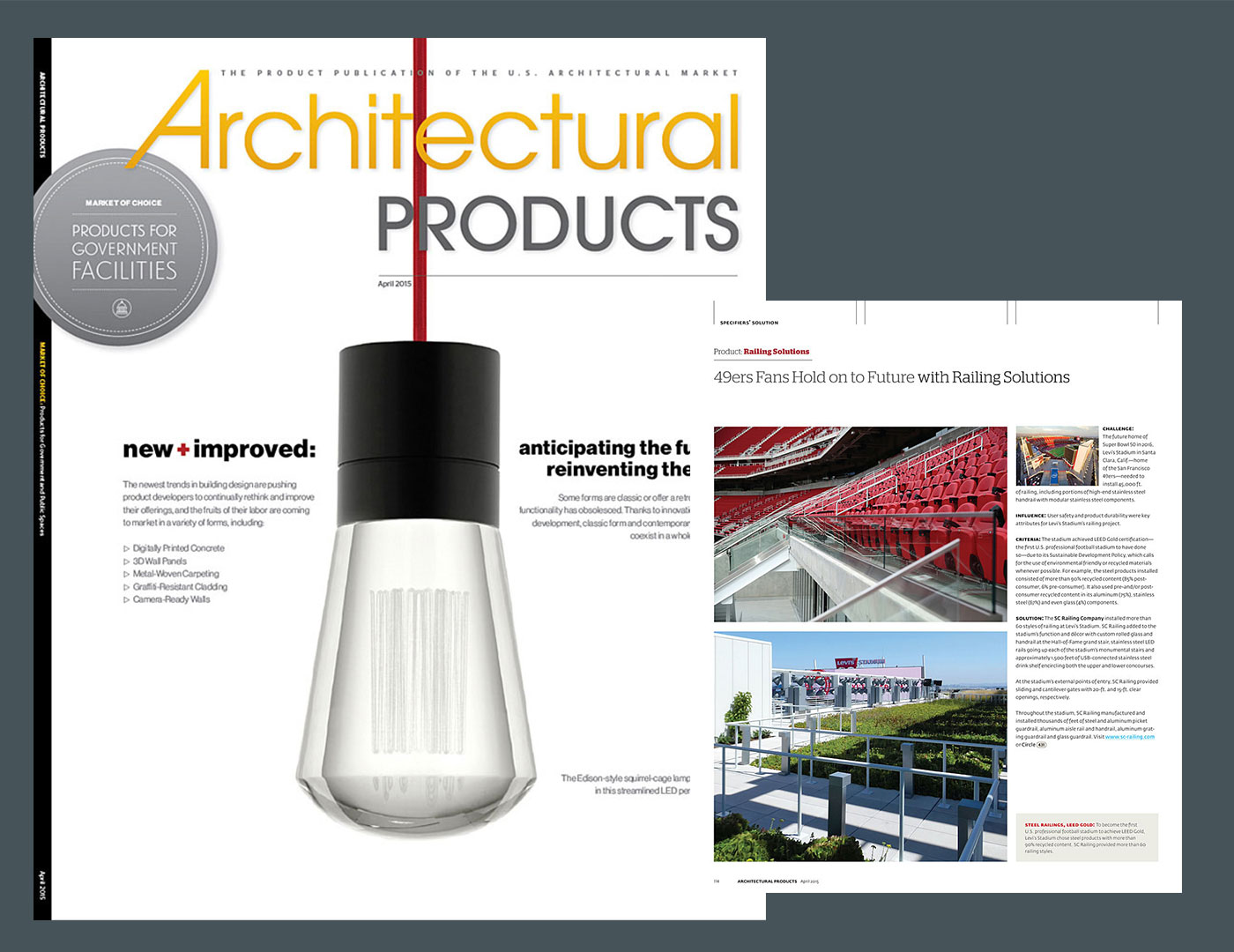49ers Fans Hold on to Future with Railing Solutions – Architectural Products Magazine