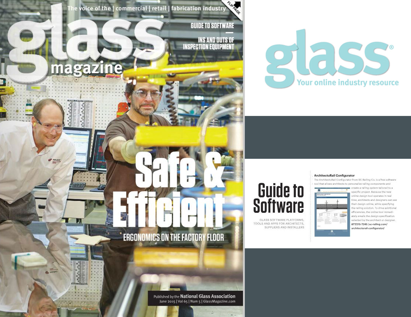 ArchitectuRAIL™ Configurator included in Glass Magazine's 'Guide to Software'