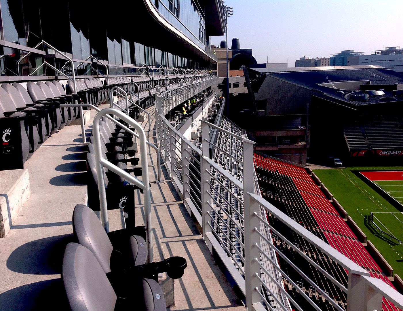 Custom Railing Provided for Nippert Stadium Renovation!