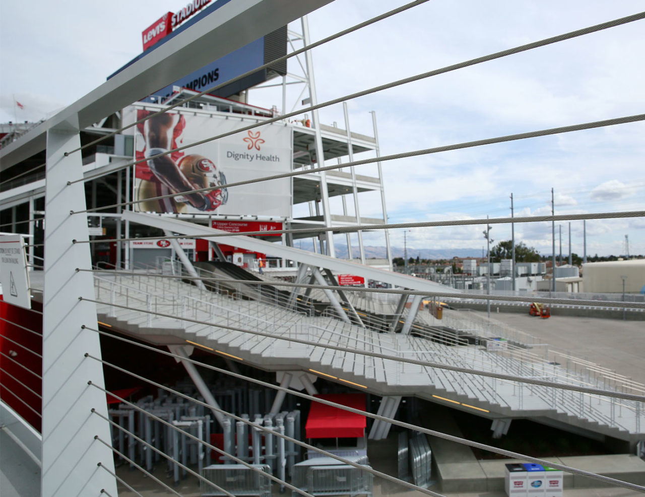 Cable Railing at Levi's Stadium