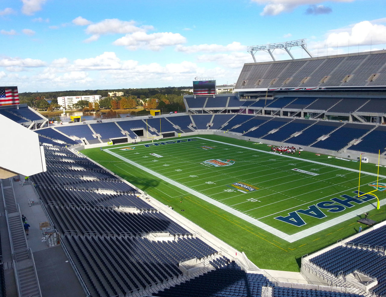 provided over 36,000 linear feet of ornamental railing at Citrus Bowl