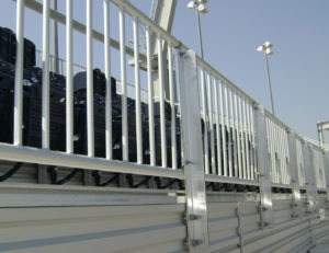 Side mounted Classic Picket railing