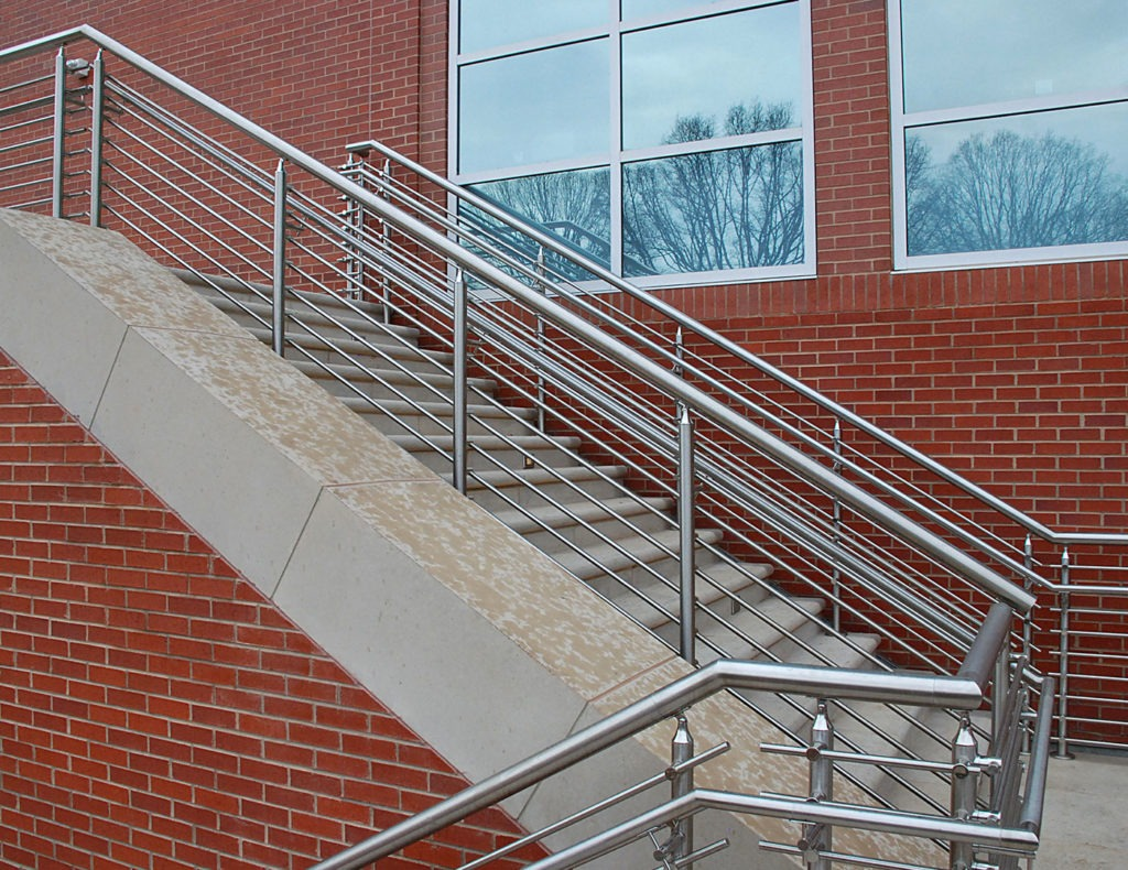 316 grade stainless steel tube railing