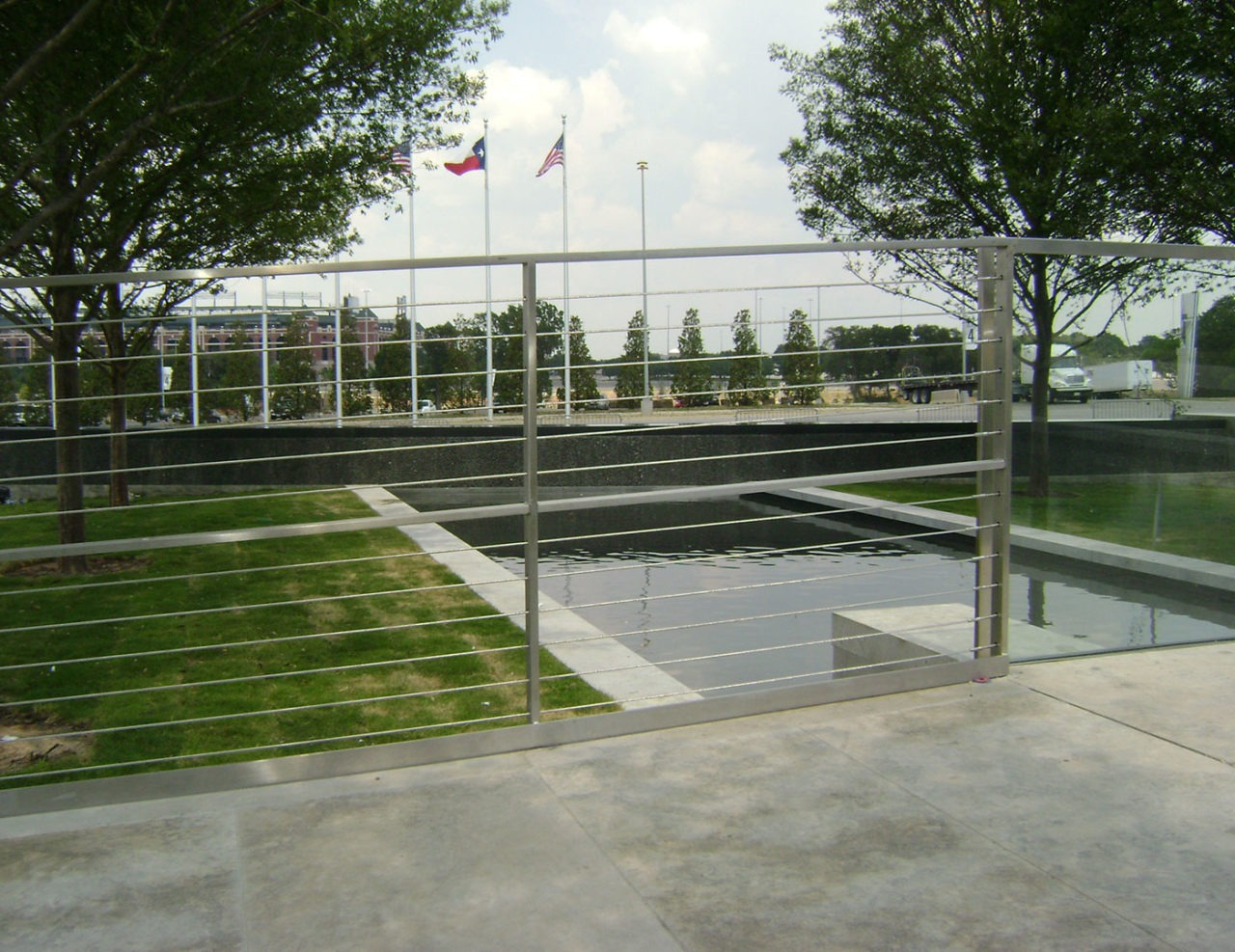Cowboys Stadium in Dallas, TX features Tensiline cable railing