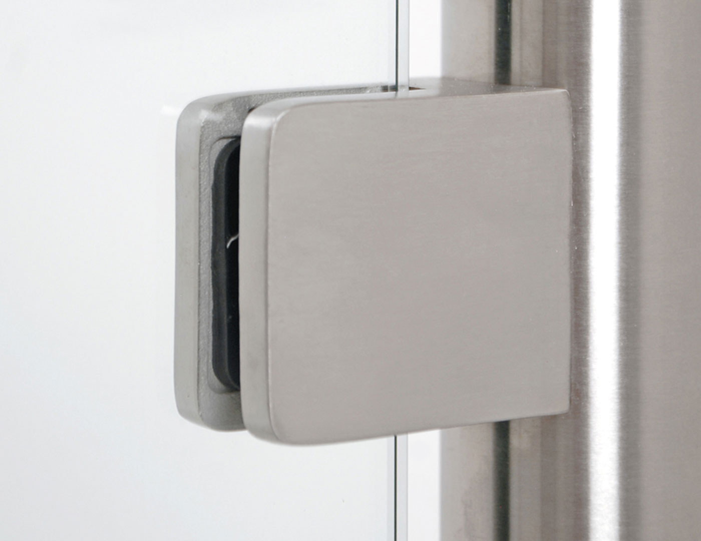Stainless Steel square-shape glass clamp
