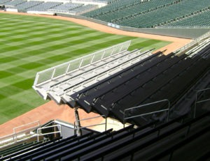 Operable Seating Platform at Target Field