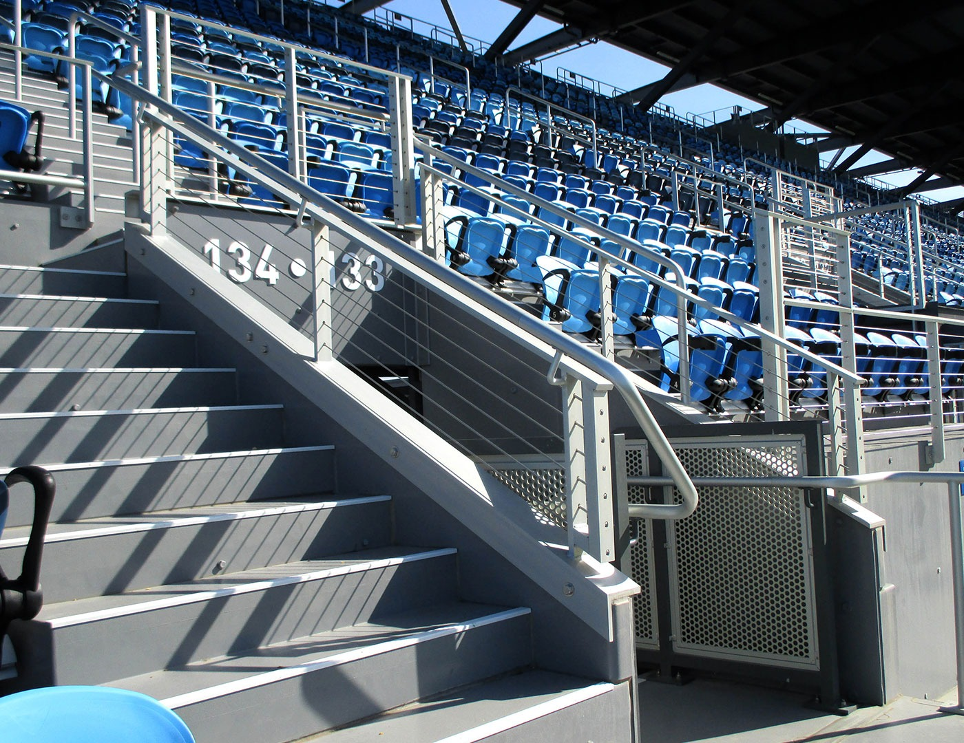 Avaya Stadium Cable Railing