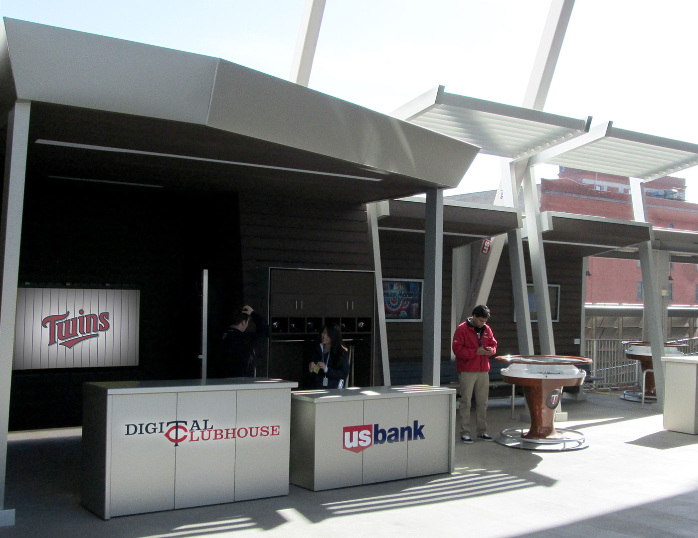 Ornamental Metals at Target Field