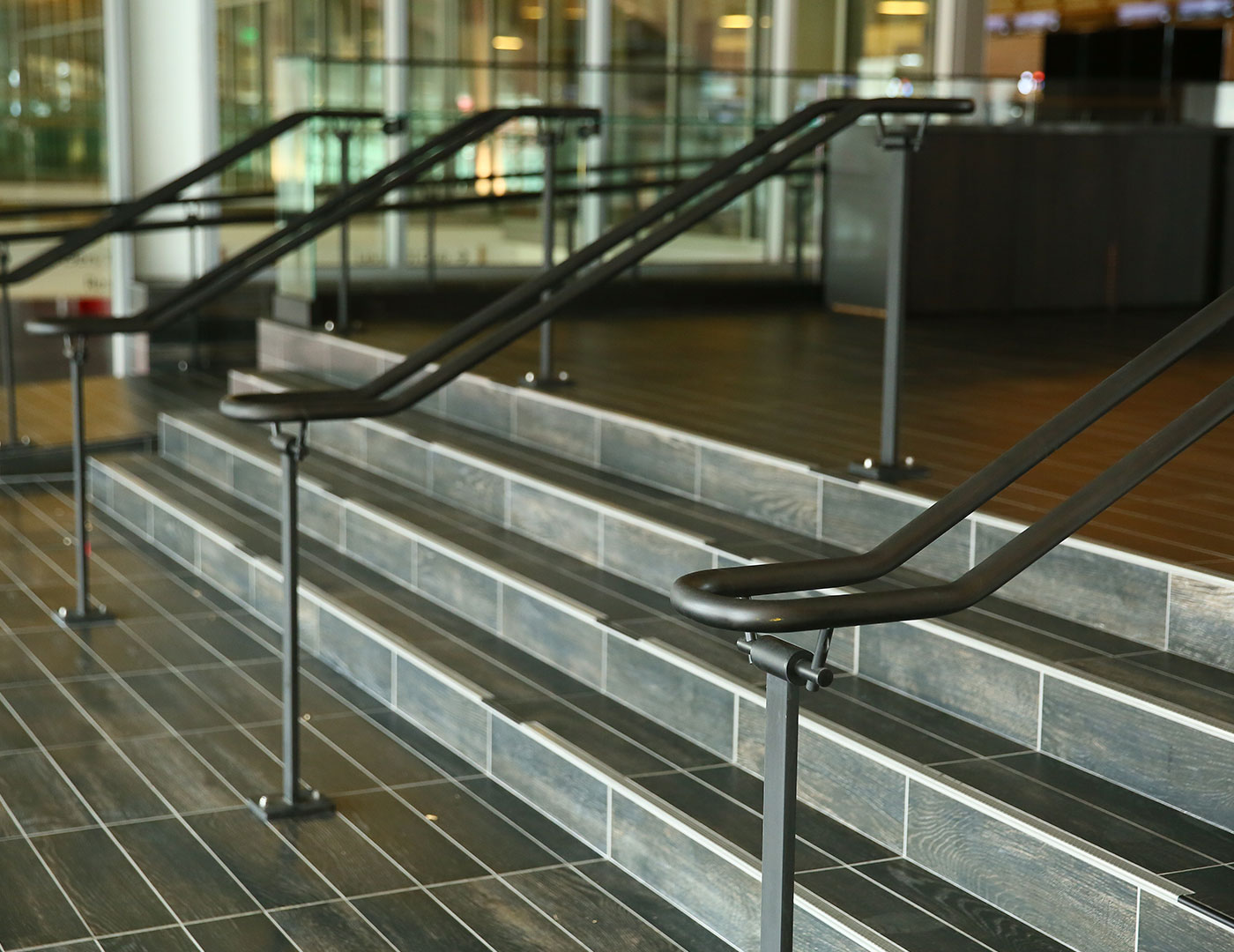 Griprail Commercial Metal Handrails Trex Commercial Products