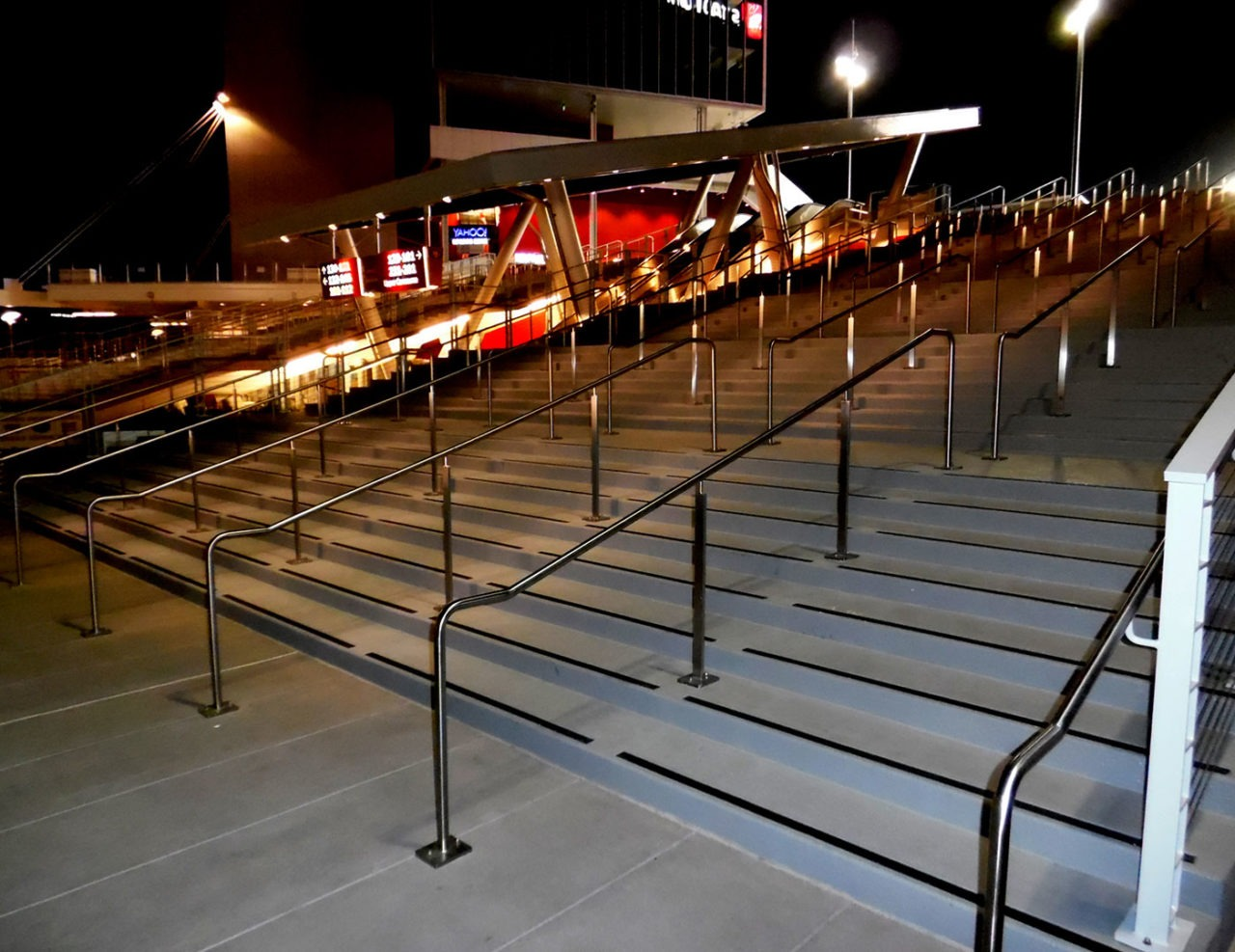 Custom LED handrail