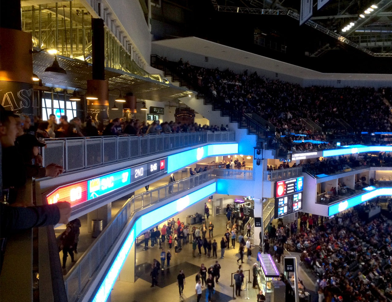Golden 1 Center Trex Commercial Products Inc