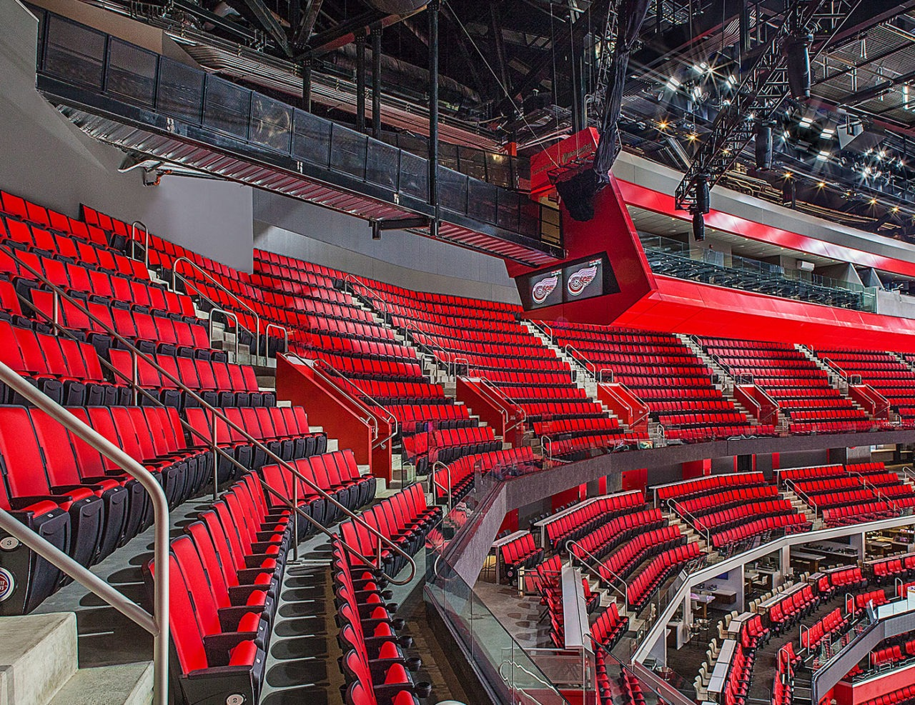 Little Caesars Arena Trex Commercial Products Inc