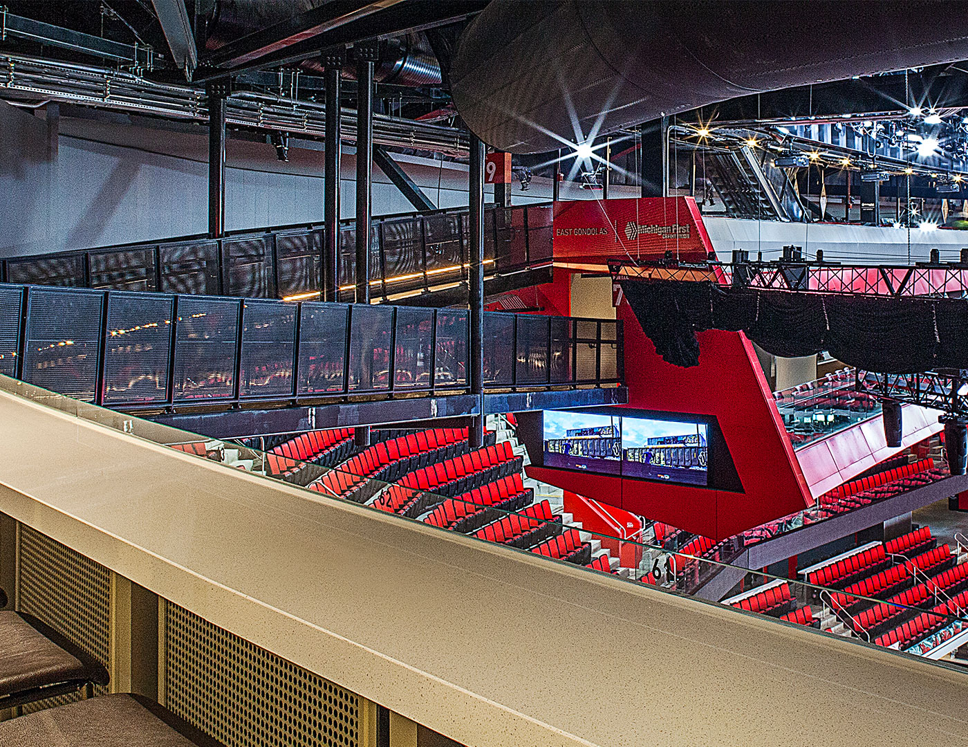 Little Caesars Arena | Trex Commercial Products, Inc.